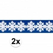Merkloos 2x sneeuw slinger 3 meter