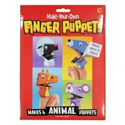 AsianHobbyCrafts Make-Your-Own Finger Puppets: Makes 4 Animal Puppets
