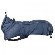 Trixie Honden Winterjas Prime blauw/grijs