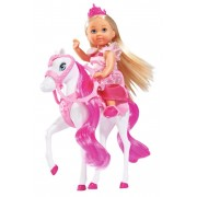 Papusa Evi Love cu calut Royal Horse 12 cm