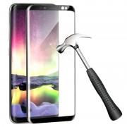 Película Protectora de Vidro Temperado para Samsung Galaxy S9 - Preto