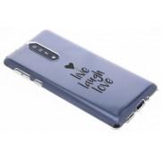 Quote design TPU hoesje voor de Nokia 8