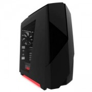 Кутия NZXT NOCTIS 450 Matte Black/Red Led, Mid tower, NZXT-CASE-N450W-M1