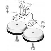Suport magnetic pentru proiectoare de lucru, Hella 8HG 004 806-001