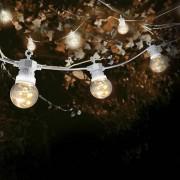 SkyLantern® Original Guirlande Guinguette Micro LED 10 m Cable Blanc
