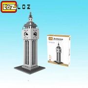 Generic LOZ Elizabeth Tower Mini Block World technic Famous Architecture Series BigBen Clock Tower London Mini Building Blocks Toys Big Ben