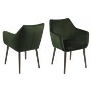D2 Krzesło Nora VIC zielone