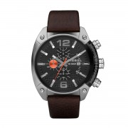 Ceas DIESEL - Overflow DZ4204 Dark Brown/Silver
