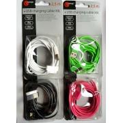 Sologic oplader 2,5 m Iphone 3/4 Ipad 1/2/3 Ipod 1/2/3/4/6
