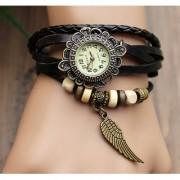 Vintage star Watches For Women Genuine Leather Best Watch Bracelet Wrist Watch Brown Star KB441