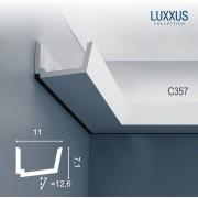 Sierlijst Origineel Orac Decor C357 LUXXUS Kroonlijst Plafondlijst voor indirecte verlichting 2 m