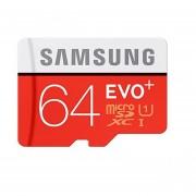 Memoria MicroSDHC Samsung 64GB EVO Plus Clase 10 100mb / S