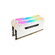 Corsair DDR4, 2666MHz 16GB, white Vengeance RGB PRO