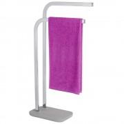 WENKO Stojící věšák na dva ručníky s řady výrobků pro koupelny Concrete firmy WENKO
