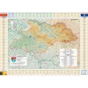 Harta Judetului Maramures cu primarii
