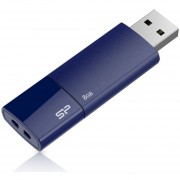 Silicon Power Ultima U05 8GB USB 2.0 Flash Drive - Deep Blue (SP008GBUF2U05V1D)