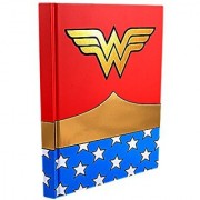 Silver Buffalo WW0150 DC Comics Wonder Woman Uniform Hard Cover Journal with Ribbon Book Mark 160-Pages 6 in. x 8 in