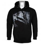 sweat-shirt avec capuche pour hommes Korn - Black - NNM - RTKRNZHBCOV