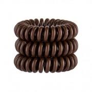 Invisibobble Power Hair Ring 3 ks gumička na vlasy pre ženy Pretzel Brown