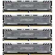 Kit Memorie Micron Crucial Ballistix Sport LT 32GB 4x8GB DDR4 2400MHz CL16