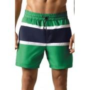 Tom rövidnadrágos férfi fürdőnadrág, zöld XL