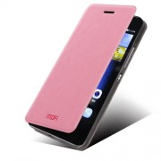 MOFI кожен калъф за Huawei Ascend P8 Lite - розов