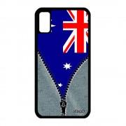 Coque Drapeau Australie Australien Iphone X Silicone Noir Jeux Olympiques Apple Iphone X