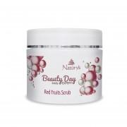 Naturys Beauty Day Body Expert Exfoliant cu fructe rosii 500ml