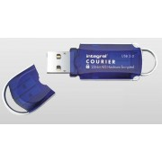 Flashdrive Integral Courier 16GB USB3.0 FIPS 197 AES 256-bit hardware encryption