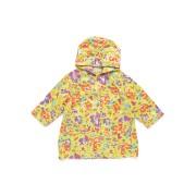 【57%OFF】プリント レインコート ライムフラワー 2/3 ベビー用品 > 衣服~~その他