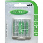 VAPEX 4in 850mAh 4db AAA akkumlátor