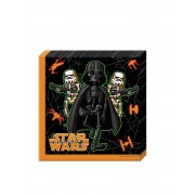 Vegaoo 20 Star Wars servetter till Halloween One-size