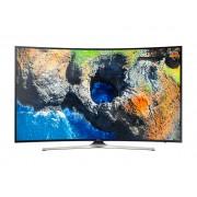 Televizor LED Curbat Samsung 55MU6202 138 cm, Smart, 4K UHD, Wi-Fi, Negru