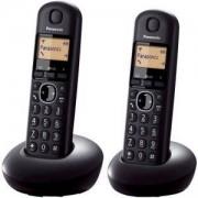 Безжичен DECT телефон Panasonic KX-TGB212FXB, Черен, 1015128