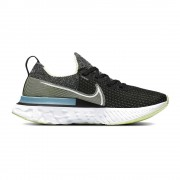 Nike Scarpe Running Epic React Infinity Nero Bianco-Barely Volt-Gl Donna EUR 38 / US 7