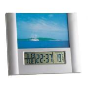 Електронен часовник с аларма и с фоторамка - 98.1093
