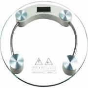 Flowsine Personal Digital Weighing Machine Weighing Scale(Transparent)