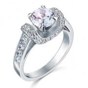 Inel Borealy Argint 925 Simulated Diamond Glamour Wedding Marimea 7