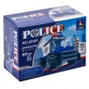 Set tip Lego Masina Politie Albastra Figurina