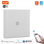 WiFi Inteligentný Dotykový vypínač 1CH bez nulový vodič Tuya Smart Life