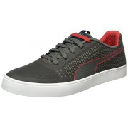 Puma Men's IRBR Wings Vulc Smoked Pearl and Chinese Red Sneakers - 8 UK/India (42 EU)