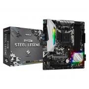 MB ASRock B450M Steel Legend, AM4, micro ATX, 4x DDR4, AMD B450, DP, HDMI, 36mj (90-MXB9Y0-A0UAYZ)