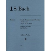 Bach J S Six 6 Sonatas And Partitas Bwv 1001-1006 For Violin Solonotated And Annotated Version