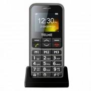 Telme C151 nagygombos mobil időseknek, piros