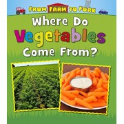 Where Do Vegetables Come From?, Paperback/Linda Staniford