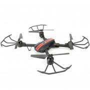 Drone Quadcopter FQ777 FQ24 Camera 2MP-Negro Rojo