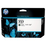 HP 727 Matte Black Designjet Ink Cartridge, 130-ml (B3P22A)