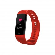 Y5 Unisex Smart Bracelet Fitness Smart Watch Tracker Sport Bluetooth Wristband - Red