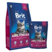 BRIT Premium Cat Adult Chicken 8kg