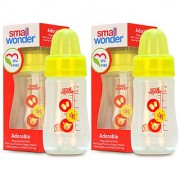 Small Wonder BPA Free Adorable Baby Feeding Bottle 125 ml Pack of 2
